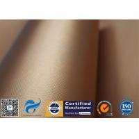 Buy cheap Copper Non Stick Silicone Baking Mat 0.2mm 260℃ PTFE Coated Grill Mat from wholesalers