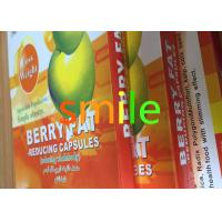 Wholesale Adults Berry Leisure Slimming Capsule , Organic Max Diet Pills No Side Effect from china suppliers