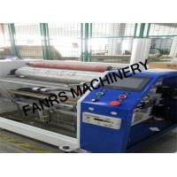 Tension Control Non Woven Fabrics Film Rewinding Machine With Perforating Setting System Manufactures