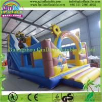 Buy cheap Inflatable Playground Large Inflatable Slide Playground Slide Bouncer Game from wholesalers