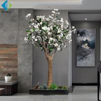Wholesale Modern Design Artificial Flower Tree , Artificial Frangipani Tree 2m Height from china suppliers