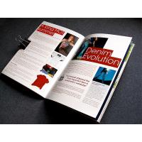 Buy cheap Gloss lamination matt lamination advertising flyer color brochures printing services from wholesalers