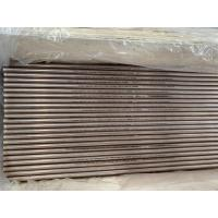Buy cheap Copper Alloy Steel Seamless Tubes For Heat Exchanger ASME SB111-17 C70600 16*1*8600mm from wholesalers