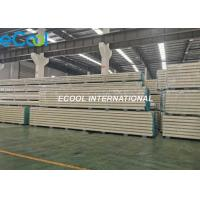 Buy cheap Polyurethane Cold Storage Panels For Cold Warehouse Refrigeration Units from wholesalers