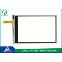 Film Glass 7 Inch 4 Wire Resistive Touch Screen Panel High Sensitivity