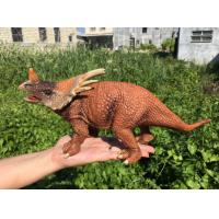 Wholesale L30*W10*H14 Walking Triceratops Toy / Plastic Triceratops Dinosaur Toy from china suppliers