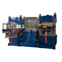 Buy cheap 74.8KW 400mm 400 Ton Rubber Brake Pad Making Machine from wholesalers