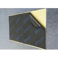 Buy cheap Acoustic Foam Soundproof Mat Strong Adhesive 7mm Black Rubber Foam Logo Printed from wholesalers