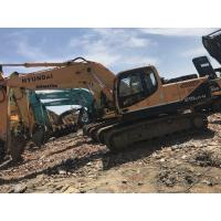 Buy cheap 21 Tonnage Hyundai R215LC-9  Second Hand Excavators With Water Coolant Engine & A/C Cab product