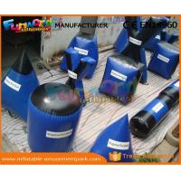 Wholesale Large Inflatable Paintball Bunkers Field Equipment with CE / UL Blower from china suppliers