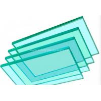 Wholesale Flat Panel Display Clear / Tinted Float Glass Thickness 3mm to 19mm from china suppliers