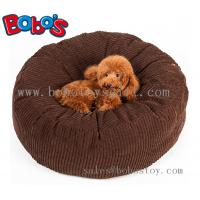 Buy cheap High Quanlity Plush Thick Pet Bed Dog Sofa Cat Mat In Dark Brown Color from wholesalers