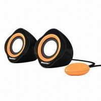 Buy cheap 2.0CH Mini PC Speakers, Adopt High-end Squelch Program from wholesalers