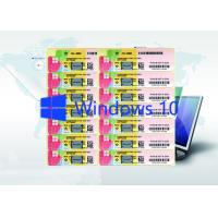 Buy cheap Microsoft Win 10 Pro Product Key Code Windows 10 Product Key Sticker Globally from wholesalers