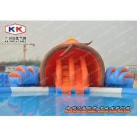 Buy cheap New design inflatable water slide gaint inflatable water park  equipment inflatable jumping water slide manufacture kwl- from wholesalers