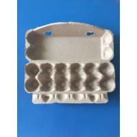 Buy cheap plup paper egg tray egg packing box 12 pcs disposable egg packing box paper packing box from wholesalers