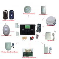 Buy cheap Mobile Phone Remote Control Home GSM Alarm System from wholesalers
