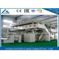High quality 1.6m S pp spun bonded nonwoven fabric production line / Single S Nonwoven fabric making machine Manufactures