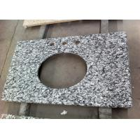 Buy cheap Water Wave Granite Vanity Tops Eased Edges With 2 Cm Thickness , SGS CE Listed from wholesalers