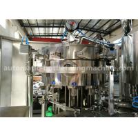 China Industrial Pet Bottled Sparkling Wine / Soda Water Filling / Making Machine on sale
