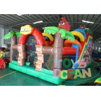 Buy cheap Inflatable Angly Brids Inflatable Bouncer Combo House 2 Years Warranty from wholesalers
