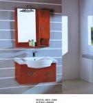 Buy cheap Light brown bathroom cabinet 0.5 Vanity Size , 70 * 80 * 16cm mirror modern bathroom sink cabinets from wholesalers