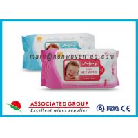 Baby Wet Tissue Wipes / Individual Flushable Moist Wipes for Travel Manufactures