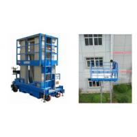 Buy cheap Push Around Man Lift With 12m Working Height , Four Mast Hydraulic Elevating Platform from wholesalers
