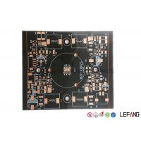 Wholesale 1 Layer / Double Layer Round PCB Board, Led Lights Copper Circuit Board from china suppliers