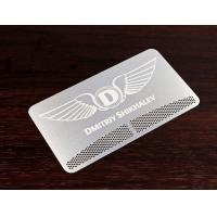 Wholesale metal club card from china suppliers