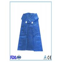 Buy cheap Sterile Lightweight SMS Disposable Surgical Gowns Protection Against Bacteria from wholesalers