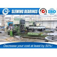 Large Excavator Slew Ring Gears With Quadruple Loading Points