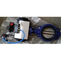 China DN40 ~DN1800 Pneumatic Butterfly Valve With Ductile Iron / Stainless Steel on sale