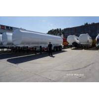 Buy cheap 3 axles fuel tanker truck trailer with best quality stainless steel tanker trailer for sale from wholesalers