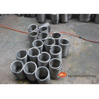 Buy cheap Coiling For Heat Exchange / Air Conditioner Evaporator Coil Location Coiled from wholesalers