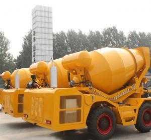 2.5 cbm self loading truck concrete mixers Manufactures