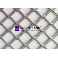 Buy cheap Light Duty Raised And Flat Expanded Metal Mesh , Construction Metal Mesh Rolls from wholesalers