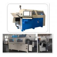 Buy cheap Material 1 - 4 Mm Wire Forming Machine And Bender With CNC Control System product