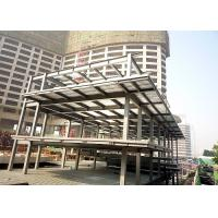 China Multi-storey steel structure platform mezzanine floor building on sale