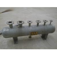 Buy cheap Horizontal Style Industrial Steam Boilers Steam Distribution Header High Performance from wholesalers