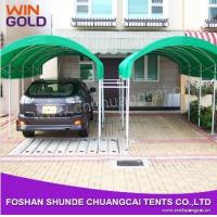 2015 Easy Assemble Customized Steel Structure Movable folding car garage tent Manufactures