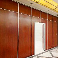 China Restaurant Furniture Fireproof Sliding Partition Room Dividers Modular Movable Walls on sale