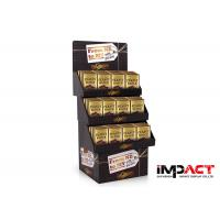 Buy cheap Innovative Promotional Cardboard Display Stand Full Color Printing For Chocolate from wholesalers