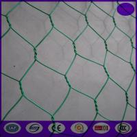 Buy cheap Plastic coating chicken wire mesh / wire netting fence 20 gauge for landscape from wholesalers