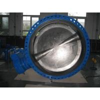 Buy cheap High Performance Stainless Steel Butterfly Valve , Electric Automated Butterfly Valve from wholesalers