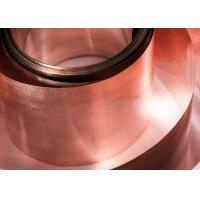 Buy cheap 0.1mm X 20mm Silver Brazing Foil , Lightweight Durable Welding Copper Sheet from wholesalers
