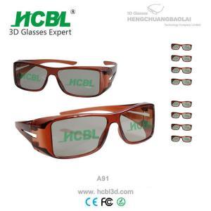 Imax Cinema 3D Glasses Fashionable 45/135 Polarized 3D Glass Eyewear