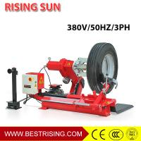 Buy cheap Tractor used otr tire repair machine for sale from wholesalers