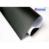 Buy cheap 500*300D 440G  SBW530 pvc blockout  black white pvc flex banner  for outdoor advertising from wholesalers