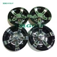 Buy cheap Electric And Gas Golf Cart Parts Sport Wheel Cover Customized Color from wholesalers